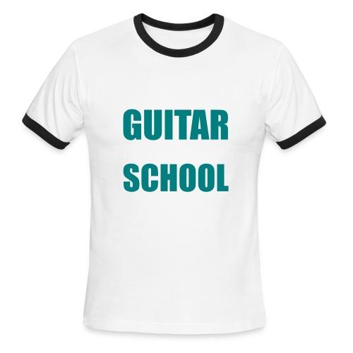 School - Men's Ringer T-Shirt