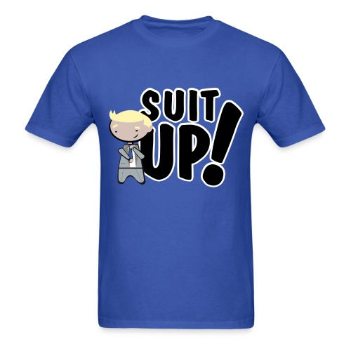 Suit Up Barney Stinson from How I met your mother shirt - Men's T-Shirt