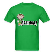T-Shirts ~ Men's T-Shirt ~ sheldon big bang theory bazinga shirt