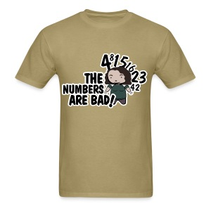 LOST - Hurley Bad Numbers Male Shirt - Men's T-Shirt