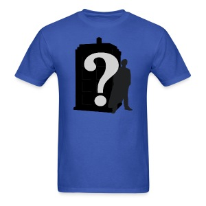 Doctor Who? - Men's T-Shirt