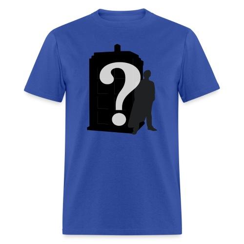Doctor Who? - Men's T-Shirt