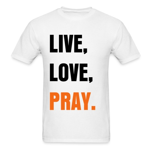 Live, Love, Pary. - Men's T-Shirt