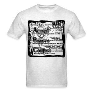 Salvation ABC's - Men's T-Shirt