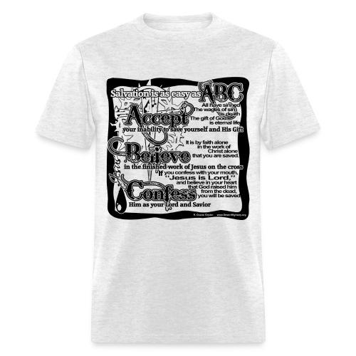 Salvation ABC's - Men's T-Shirt