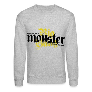BB- Monster Crewneck - Crewneck Sweatshirt