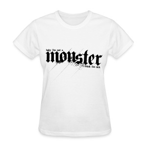 BB- Monster (BB on Back) Women's Tee - Women's T-Shirt