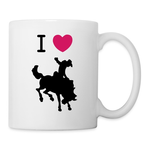 I Heart Cowboys Mug - Coffee/Tea Mug