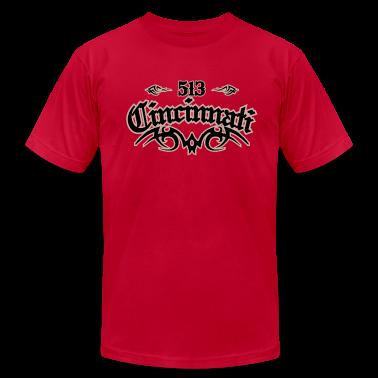 Cincinnati 513 American Apparel T-Shirt