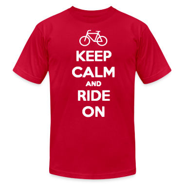 keep_calm_and_ride_on T-Shirts