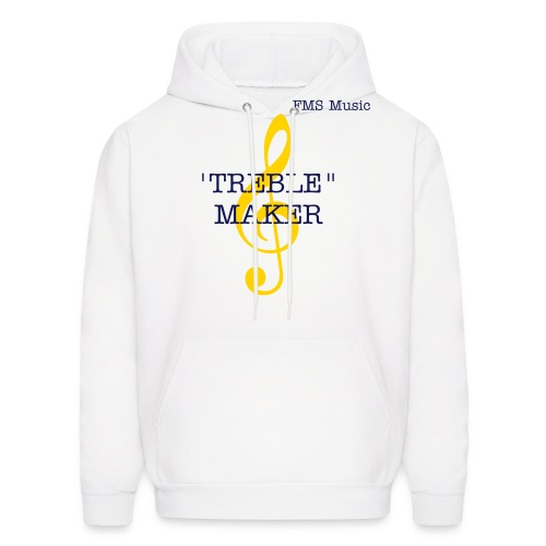 Men's Hooded Sweatshirt:  FMS Treble Maker - Men's Hoodie