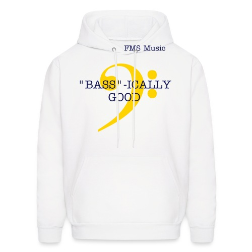 Men's Hooded Sweatshirt:  FMS BASS-ICALLY GOOD - Men's Hoodie