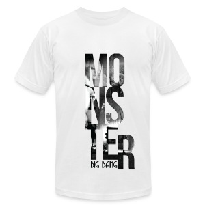 BB- Monster Daesung AA Tee - Men's T-Shirt by American Apparel