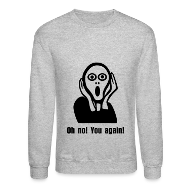 The Scream, shock Long Sleeve Shirts