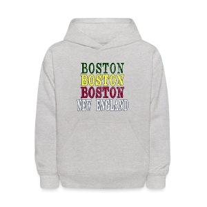 Boston Boston Boston - Kids' Hoodie
