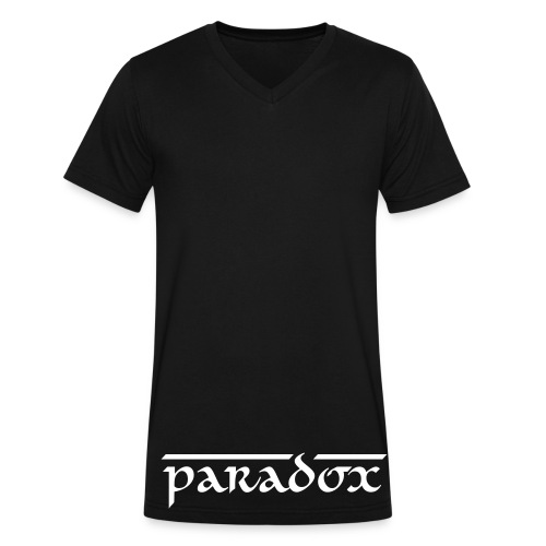 Paradox Original blk V-neck - Men's V-Neck T-Shirt by Canvas