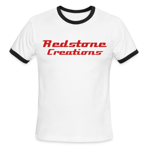 Redstone Creations #1a - Men's Ringer T-Shirt