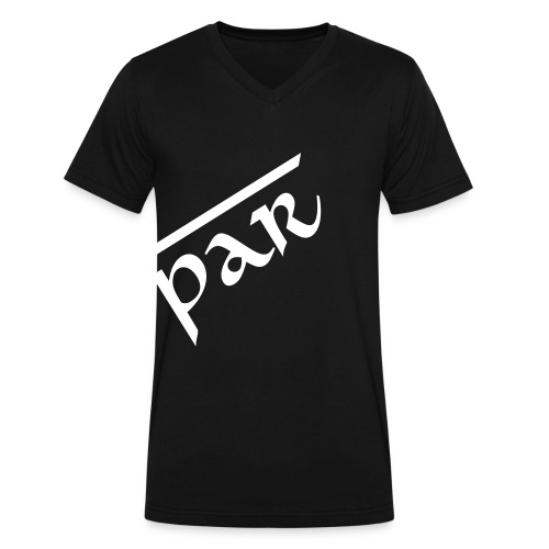 Paradox Departed blk V-neck - Men's V-Neck T-Shirt by Canvas