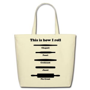 This is how I roll (tote bag) - Eco-Friendly Cotton Tote