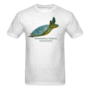 Hawksbill Turtle - Front only - Men's T-Shirt