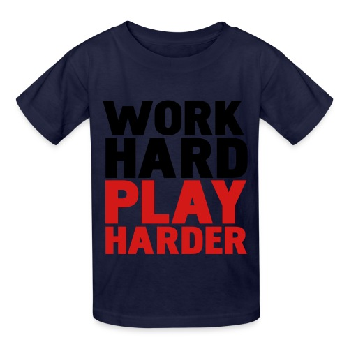 Kids Work Hard T-Shirt - Kids' T-Shirt