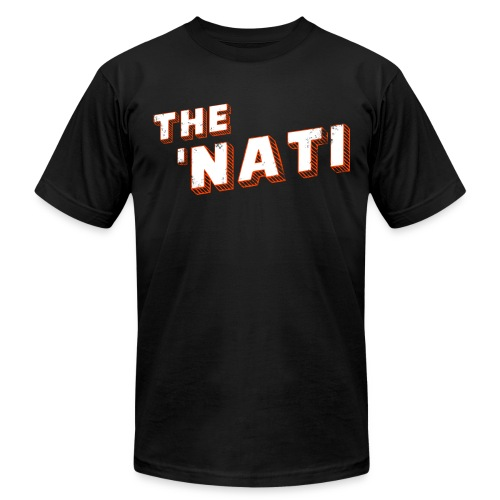 THE 'NATI - BENGAL STRIPED - Men's Fine Jersey T-Shirt
