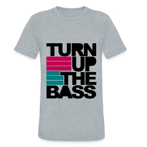 Turn it up - Unisex Tri-Blend T-Shirt
