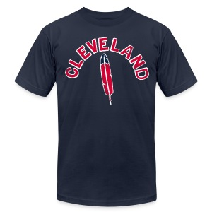 CLEVELAND  - Men's T-Shirt by American Apparel