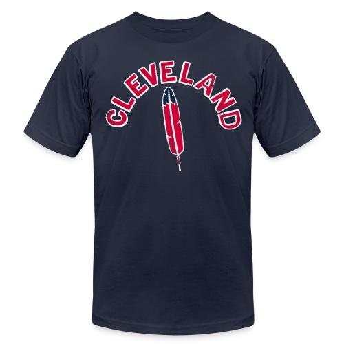 CLEVELAND  - Men's Fine Jersey T-Shirt