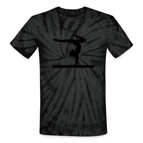 Gymnast life - Unisex Tie Dye T-Shirt