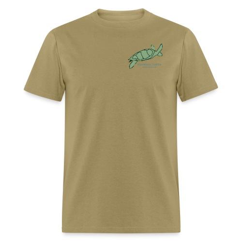 Hawksbill Turtle Front & Back - Men's T-Shirt