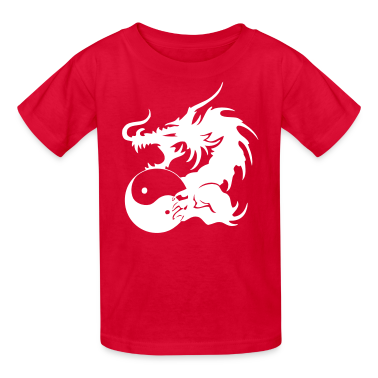 Dragon VECTOR Kids' Shirts