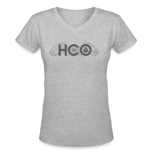 HCO Cycling V-Neck - Women's V-Neck T-Shirt