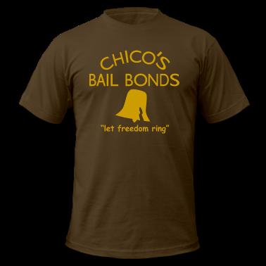 Chicos Bail Bonds American Apparel T-Shirt