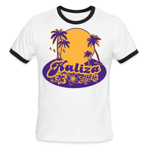 Mens: LA Summer - Men's Ringer T-Shirt