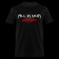T-Shirts ~ Men's T-Shirt ~ All in Vein SFX T-Shirt