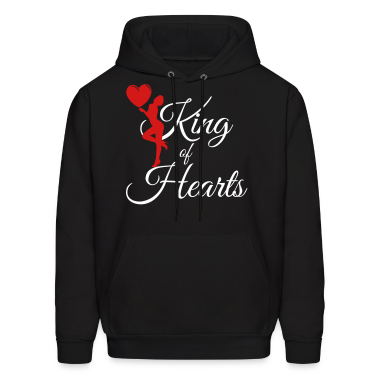 king_of_hearts Hoodies