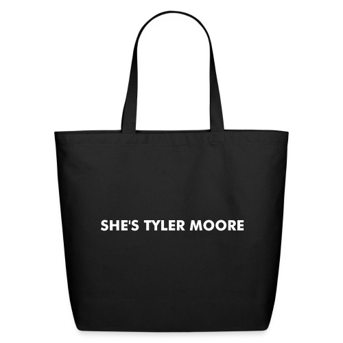 MARY TYLER MOORE WHITE - Eco-Friendly Cotton Tote