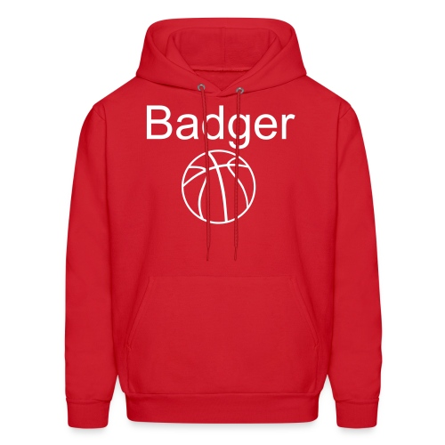 Badger Basketball - Men's Hoodie