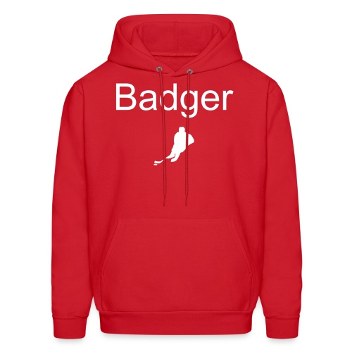 Badger Hockey - Men's Hoodie