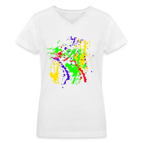 Paint Splatter Colorful Graffiti Graphic Design Picture - Cool ...