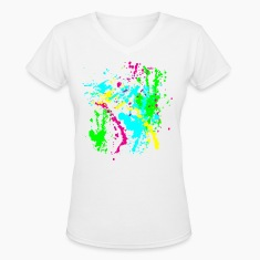 Spray Paint Splatter Colorful Graffiti Graphic Design Picture - Cool tshirt and Hoodie Sweater!