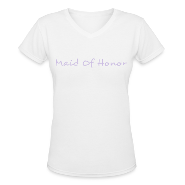 Maid of Honor Text Graphic Design Perfect gift for tshirts or hoodies for the Bridal Party!