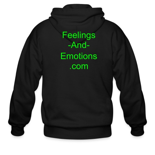 Feelings-And-Emotions - Men's Zip Hoodie