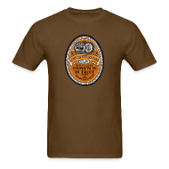 T-Shirts ~ Men's T-Shirt ~ DWD Beer Label