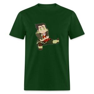 Papercut Bolin and Pabu - Men's T-Shirt