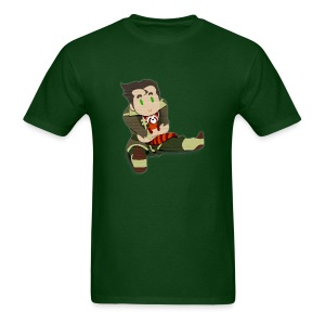 Papercut Bolin and Pabu - Men's T-Shirt