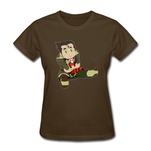 Papercut Bolin and Pabu (Women's Fitted) - Women's T-Shirt