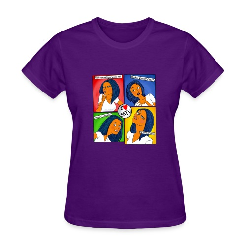 FaceSatv - Women's T-Shirt