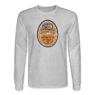 Long Sleeve Shirts ~ Men's Long Sleeve T-Shirt ~ DWD Beer Label